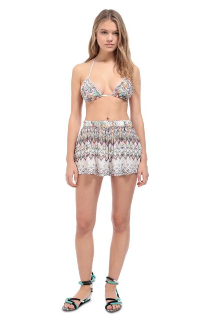 MISSONI MARE Shorts Light pink Woman - Back