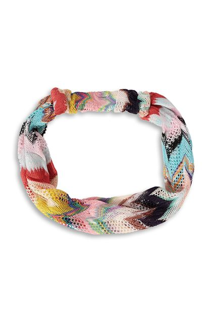 MISSONI MARE Beachwear head band Pink Woman - Back