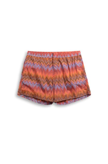MISSONI MARE Swimsuit Rust Man - Back
