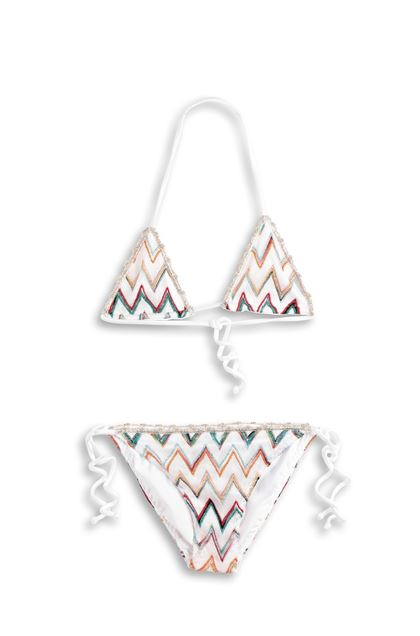MISSONI KIDS Bikini Bianco Donna - Retro