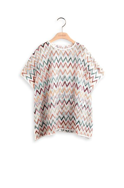 MISSONI KIDS Kaftan White Woman - Back