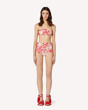 REDValentino Graphic Flora printed bikini