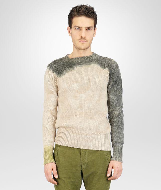 BOTTEGA VENETA Mist Sergeantdip-Dye Wool Sweater Knitwear U fp