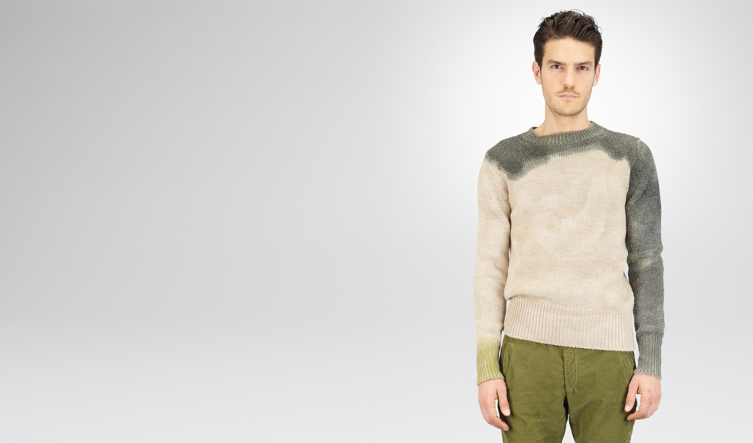 BOTTEGA VENETA Knitwear U Mist Sergeantdip-Dye Wool Sweater pl