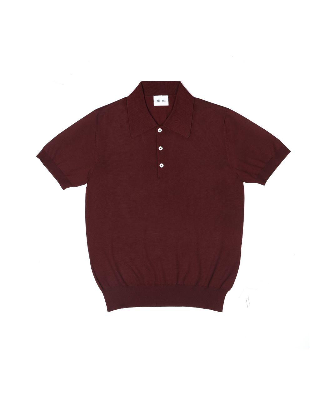 BRIONI Short-sleeve polo shirt T-Shirts & Polos U r