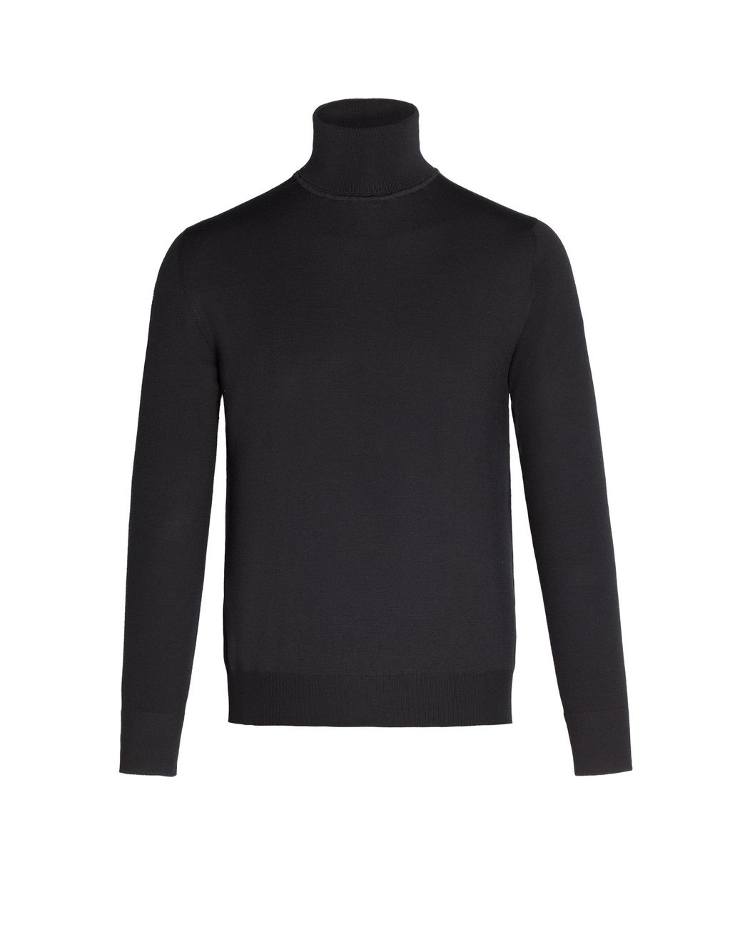 BRIONI Turtleneck with ribbed collar Knitwear Man f