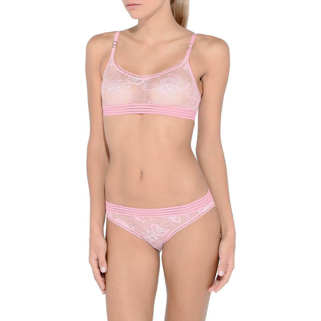 Stella Lace for Breast Cancer Awareness Bra - STELLA MCCARTNEY