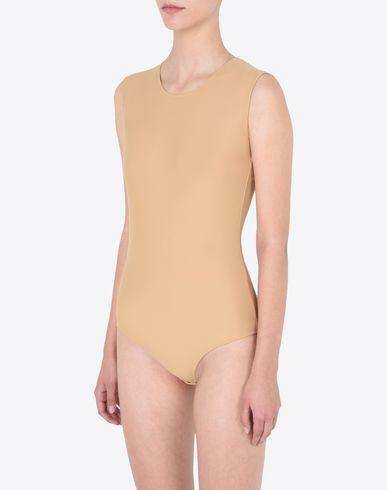 TOPS & TEES Sleeveless bodysuit Beige