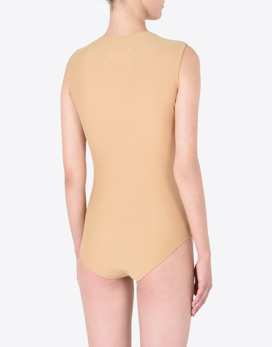 MAISON MARGIELA Sleeveless bodysuit Body [*** pickupInStoreShipping_info ***] e