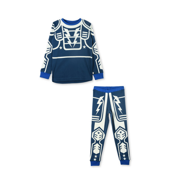 Louie Robot Pajama Set