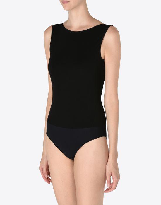 MAISON MARGIELA Crewneck jersey bodysuit Body [*** pickupInStoreShipping_info ***] r
