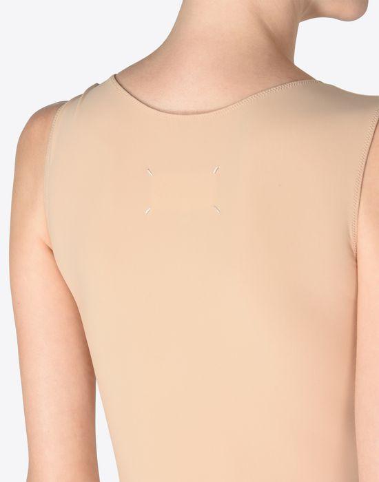 MAISON MARGIELA 1 Scoop-neck jersey bodysuit Body D b