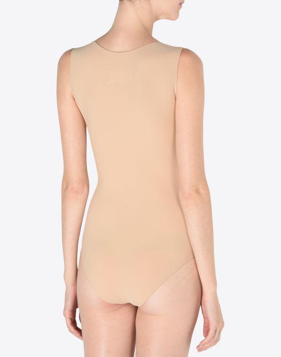 MAISON MARGIELA 1 Scoop-neck jersey bodysuit Body D e