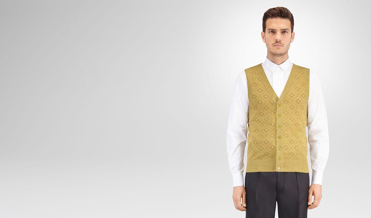 bronze wool lurex vest landing