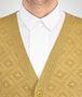 BOTTEGA VENETA BRONZE WOOL LUREX VEST Knitwear Man ap