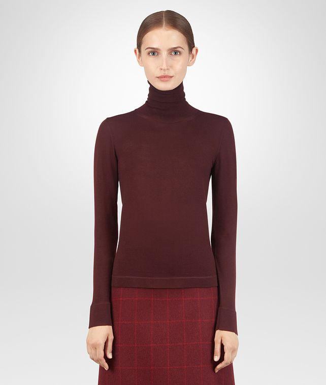 BOTTEGA VENETA BAROLO CASHMERE SWEATER Knitwear or Top or Shirt D fp