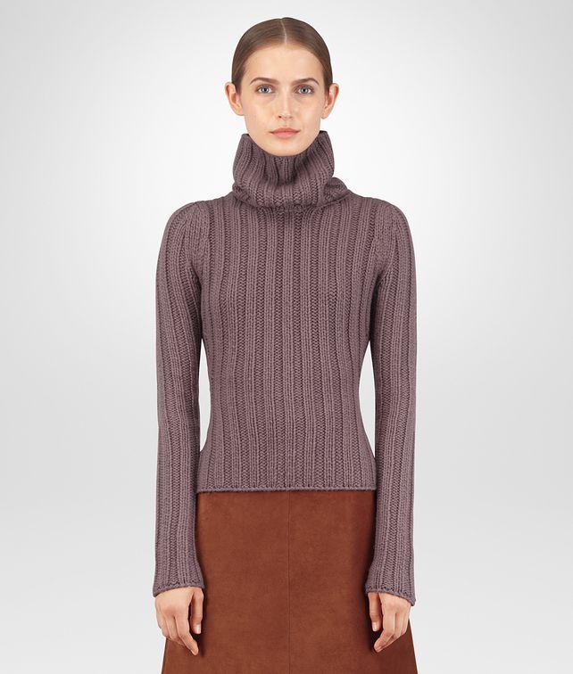 BOTTEGA VENETA GLICINE CASHMERE SWEATER Knitwear Woman fp