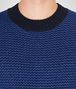 BOTTEGA VENETA DARK NAVY WOOL CASHMERE SWEATER Knitwear Man ap