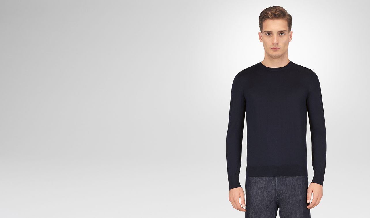 dark navy merino sweater landing