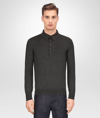 DARK GREY MERINO SWEATER