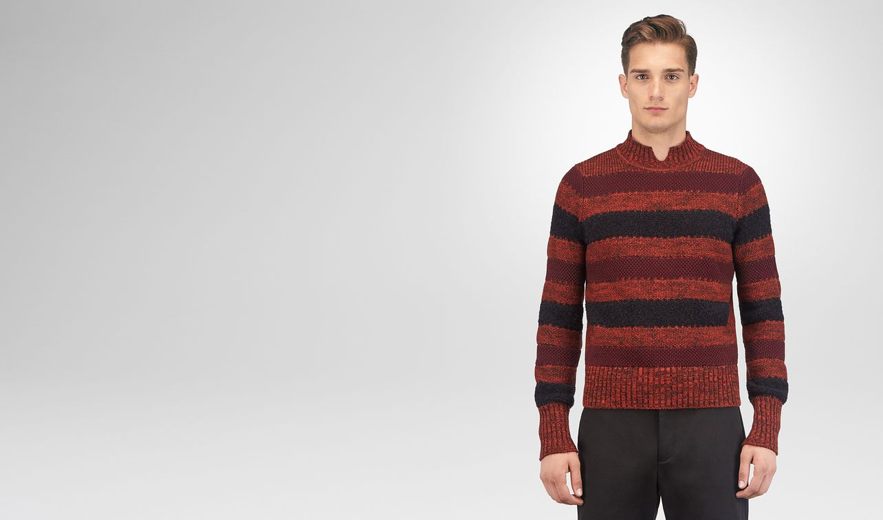 gigolo red cotton wool cashmere sweater landing