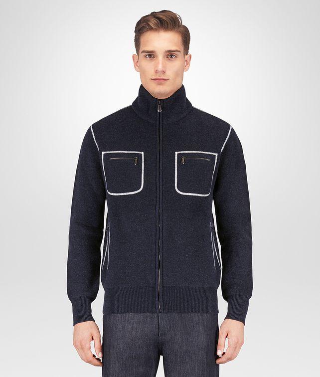 BOTTEGA VENETA DARK NAVY WOOL CASHMERE SWEATER Knitwear [*** pickupInStoreShippingNotGuaranteed_info ***] fp