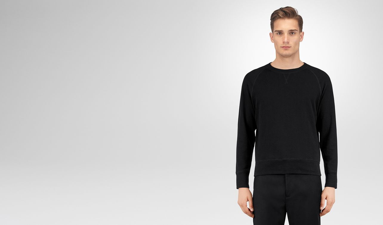 nero cotton sweater landing