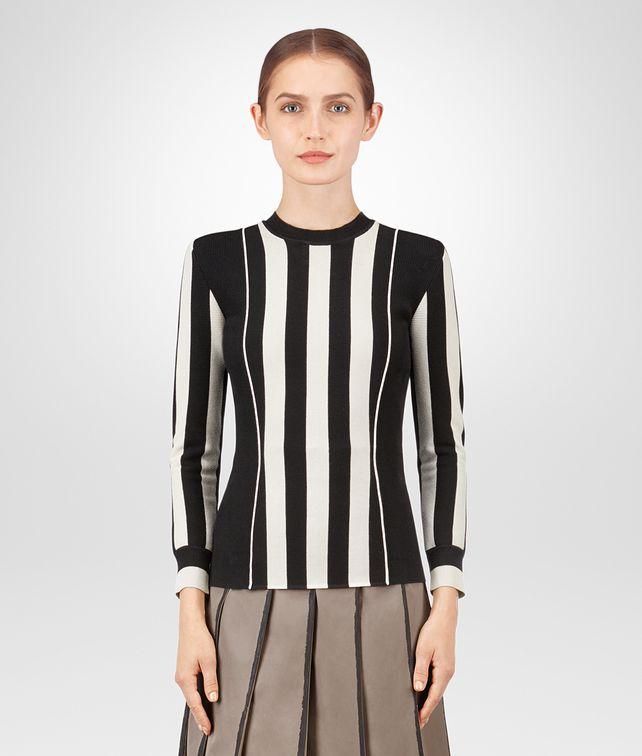 BOTTEGA VENETA NERO VISCOSE SWEATER Knitwear or Top or Shirt Woman fp
