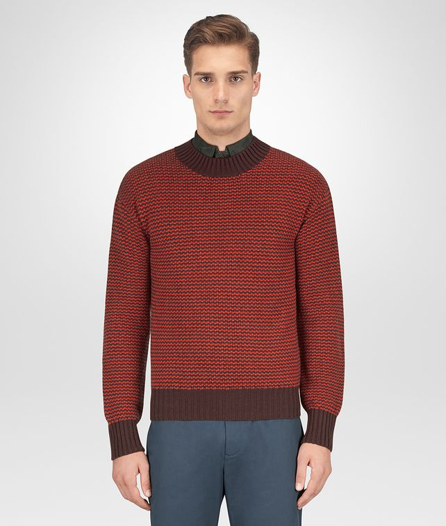BOTTEGA VENETA BAROLO WOOL CASHMERE SWEATER Knitwear Man fp