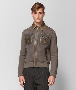 스틸 스웨이드 재킷