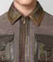 BOTTEGA VENETA STEEL SUEDE JACKET Knitwear Man ap