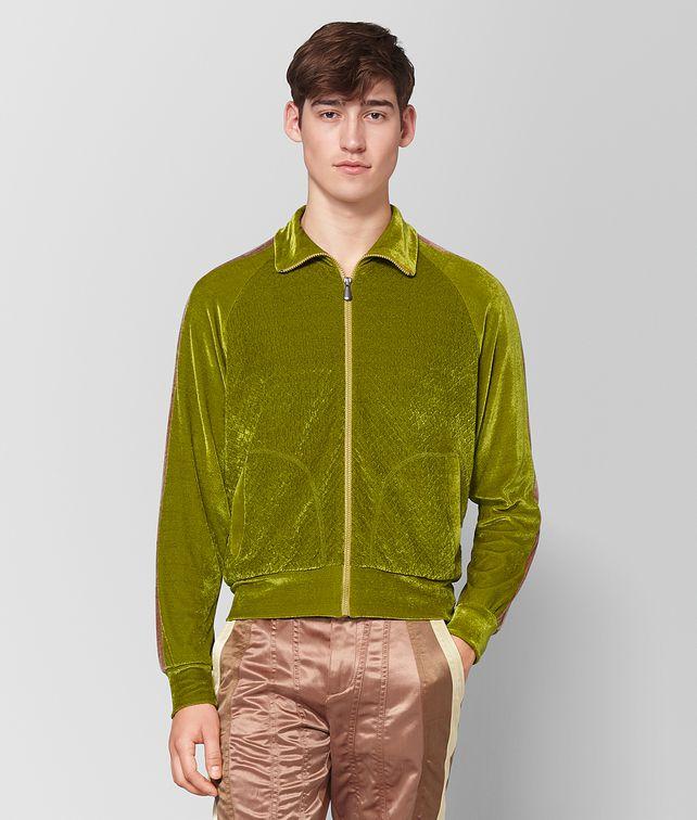BOTTEGA VENETA CHAMOMILE CHENILLE SWEATER Knitwear Man fp