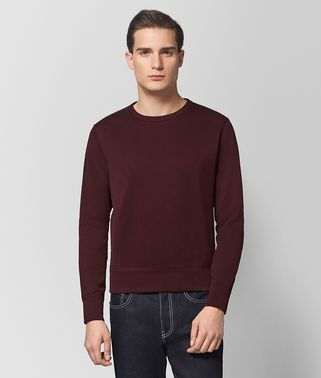 DARK BAROLO COTTON SWEATER