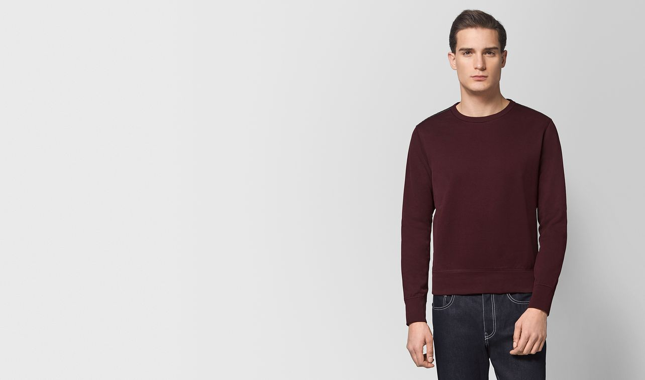dark barolo cotton sweater landing