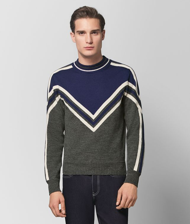 BOTTEGA VENETA MULTICOLOR WOOL SWEATER Knitwear [*** pickupInStoreShippingNotGuaranteed_info ***] fp