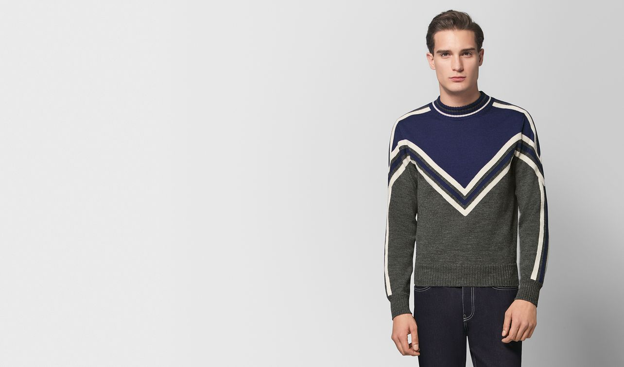 multicolor wool sweater landing