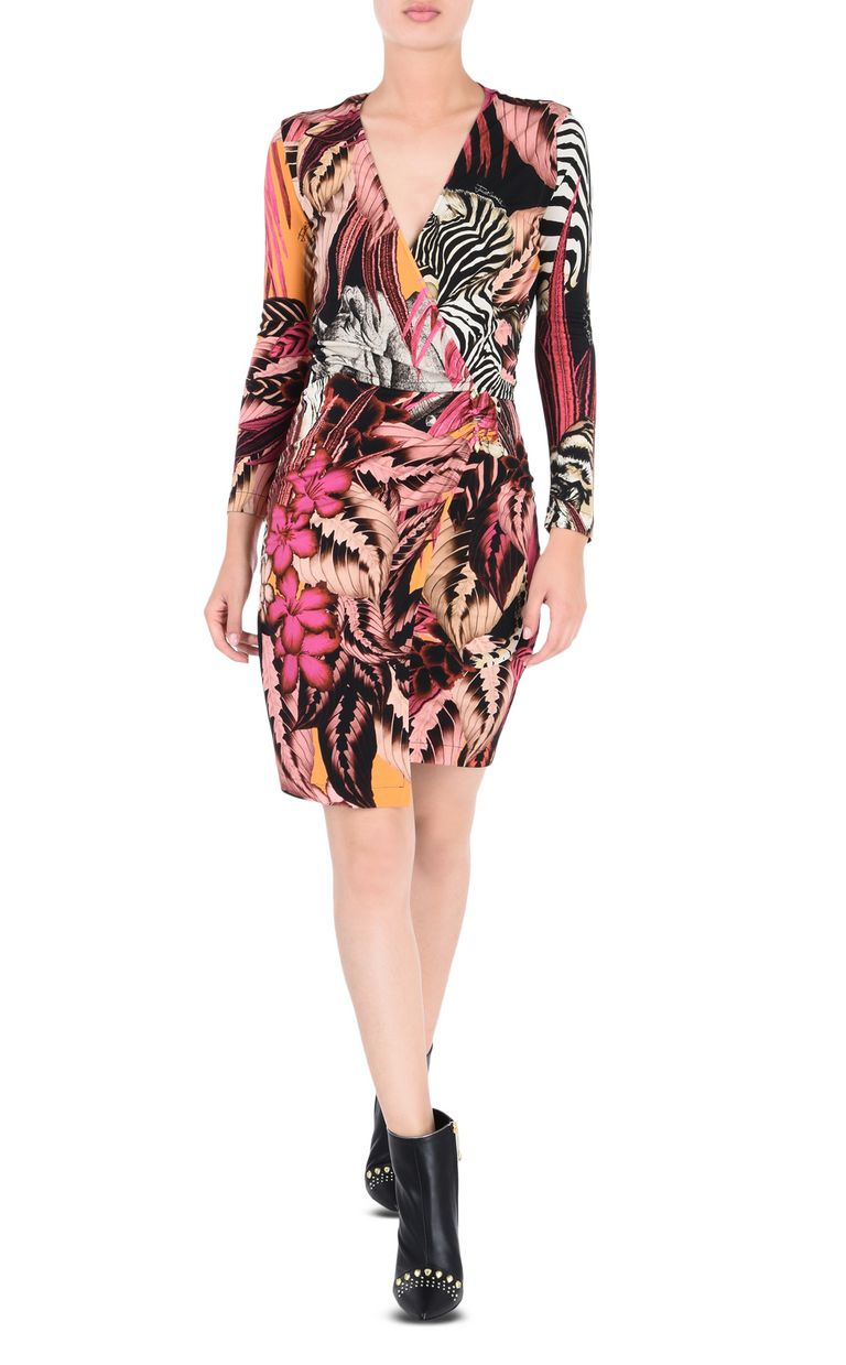JUST CAVALLI Kenya mini dress Dress Woman r