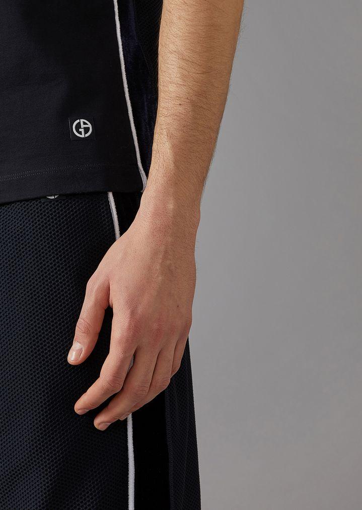 Giorgio Armani - Polo de micropiqué de algodón elástico - 5