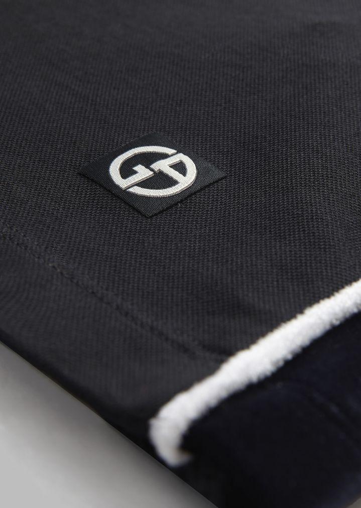 Giorgio Armani - Polo de micropiqué de algodón elástico - 6