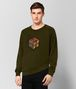 BOTTEGA VENETA MUSTARD COTTON SWEATSHIRT Knitwear Man fp