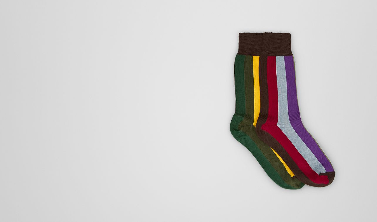 multicolor cotton socks landing