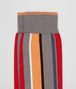 flame/orange cotton socks Front Detail Portrait