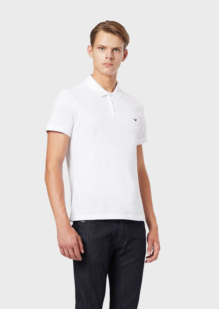 1033c9e61a Polo Shirt in Pure Cotton