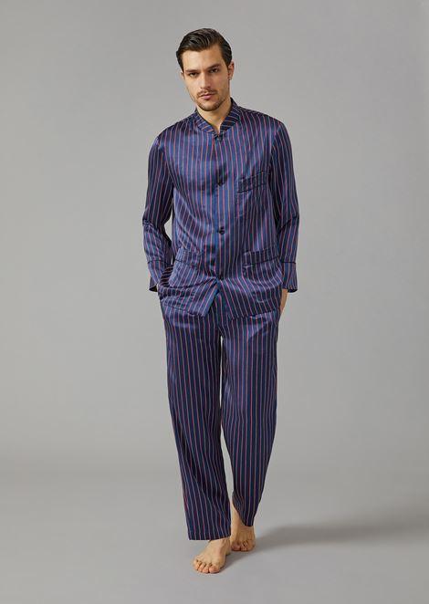Pyjama en pure soie
