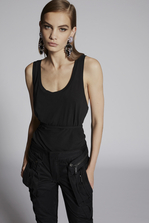 DSQUARED2 Wrapped Tank Top Top Woman