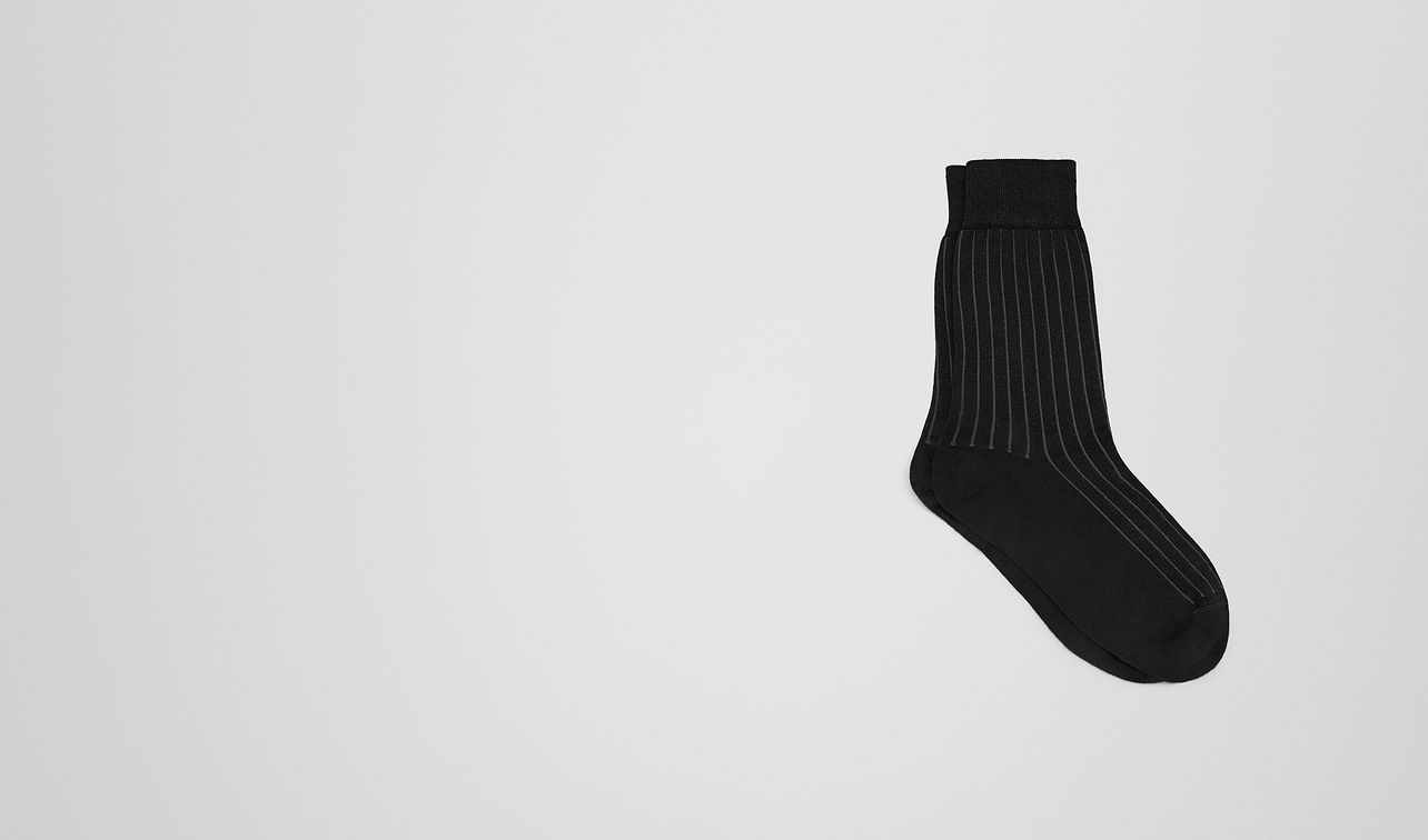 nero/grey cotton socks landing