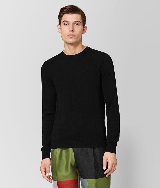 BOTTEGA VENETA NERO CASHMERE SWEATER Knitwear [*** pickupInStoreShippingNotGuaranteed_info ***] fp