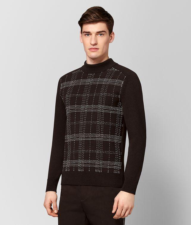BOTTEGA VENETA ESPRESSO WOOL SWEATER Knitwear [*** pickupInStoreShippingNotGuaranteed_info ***] fp