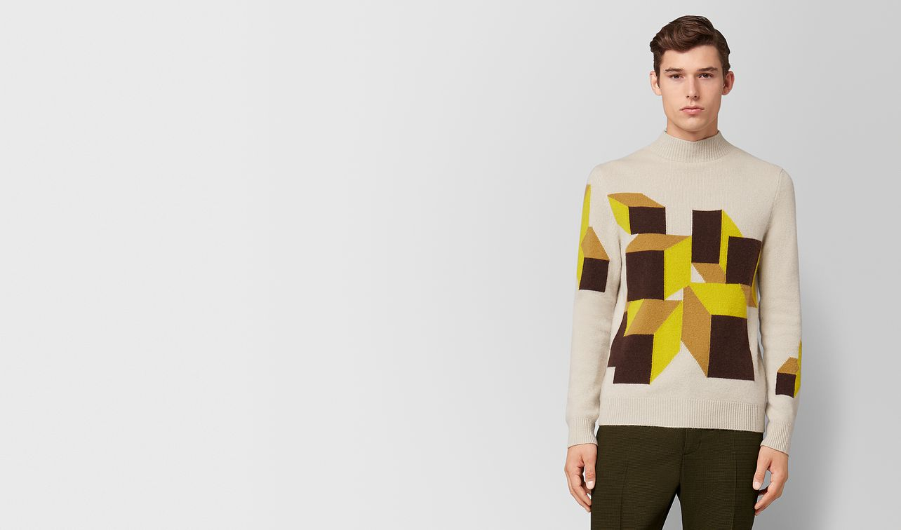multicolor cashmere sweater landing