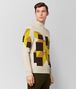 multicolor cashmere sweater Right Side Portrait